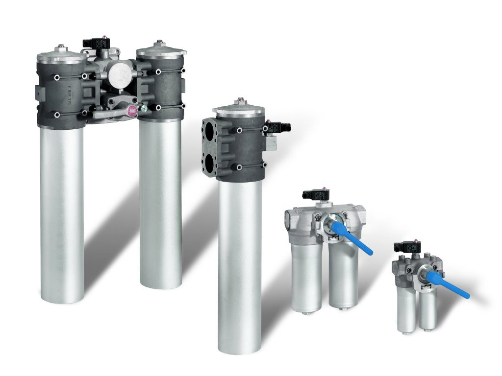 Duplex filter til industrifilrering
