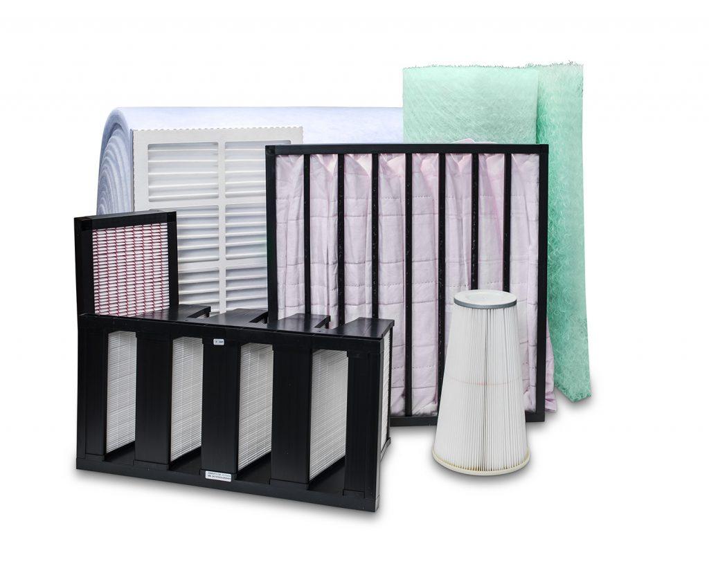 HVAC filtre - Ventilationsfilter til Medicinalbranchen, Industriproduktion, Kontorer, Sygehuse og Værksteder