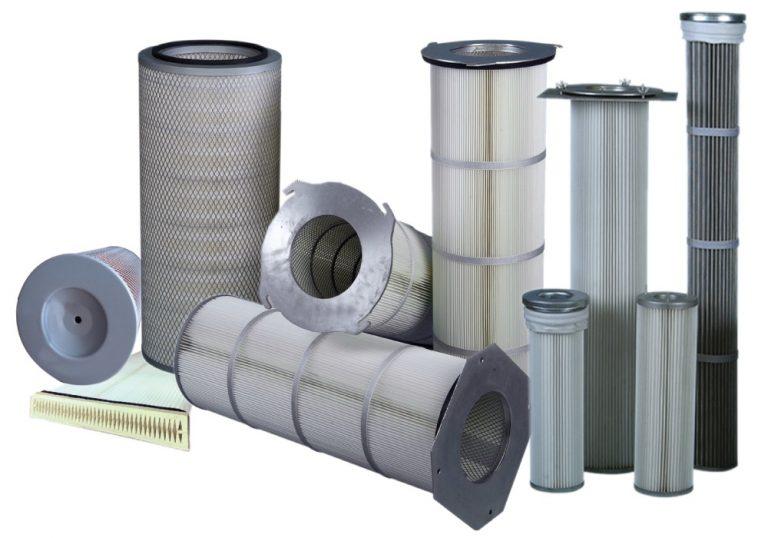 Filtre til industriel støvfiltrering af støvanlæg